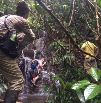 Kaminando (trekking) again…
