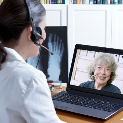Telemedicine provides insight from a medical professional to people in remote areas