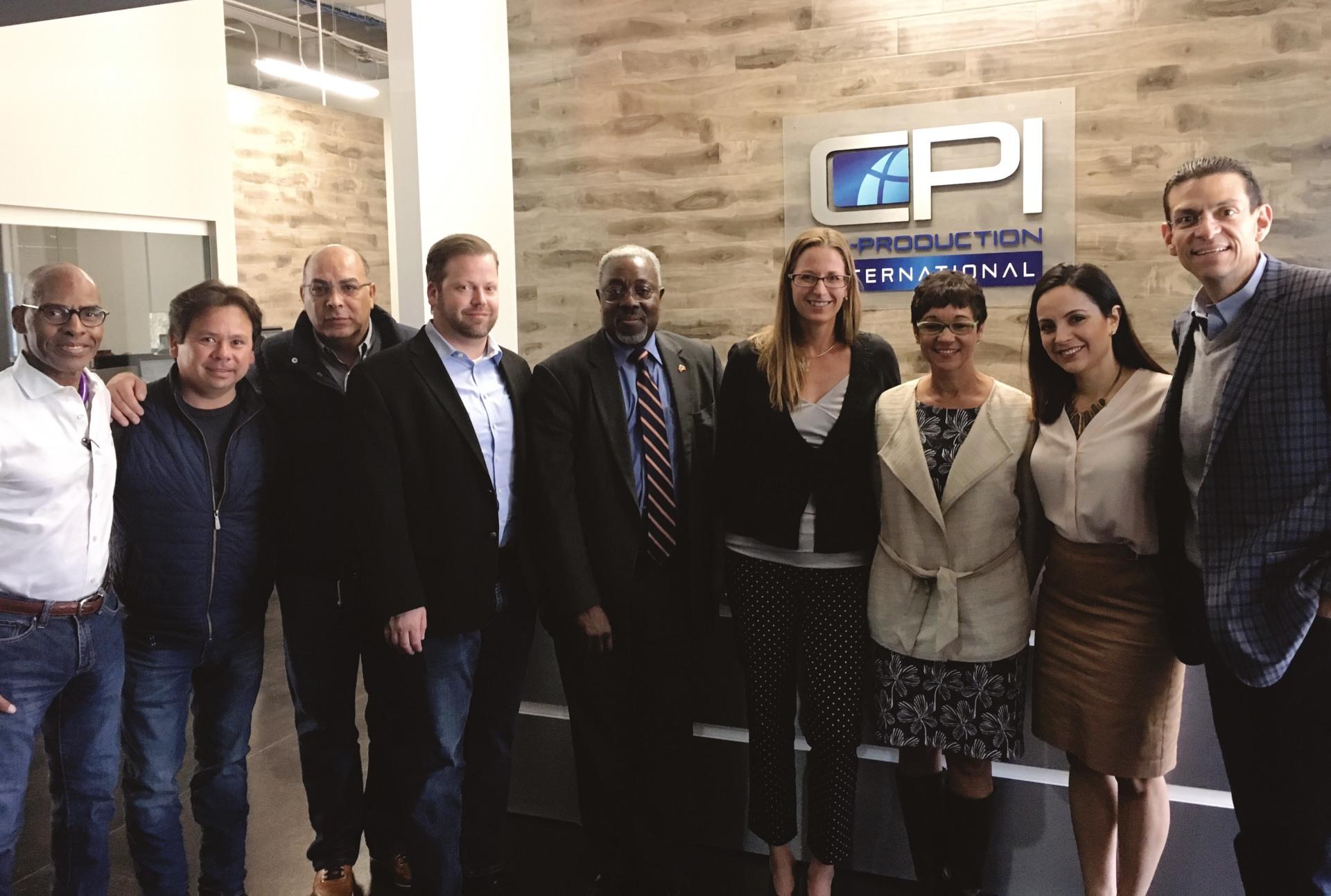 Aerospace Arizona members at Co-Production International