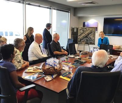 Aerospace Arizona Members Tour Falcon Field
