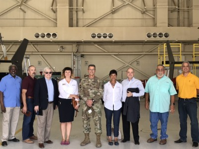 Aerospace Arizona Members Tour Western Army Aviation Training Site