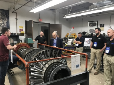Aerospace Arizona Members Tour ASU Engineering School