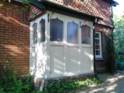 Exterior porch.