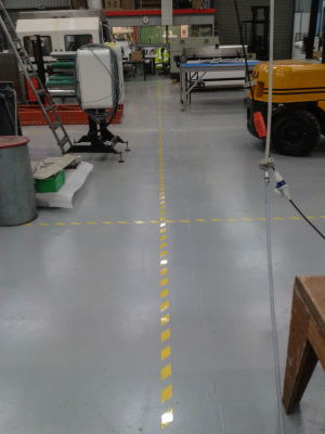 Facotory floor.