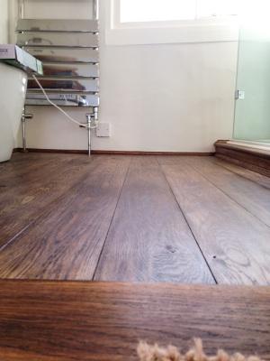 Floor restoration grade 2 listed building.