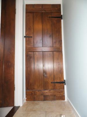 Wood restoration.