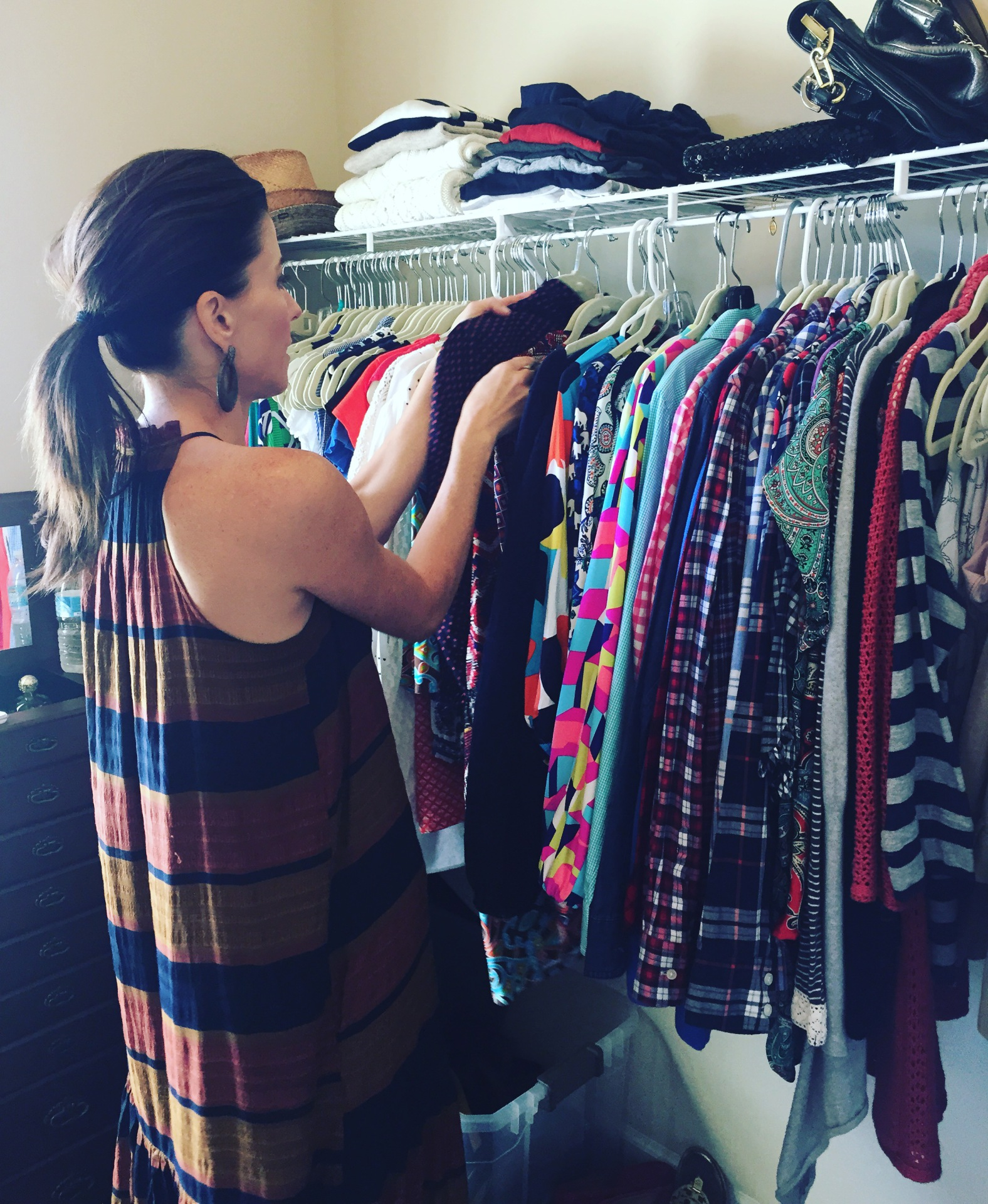 BEHIND THE SCENES OF A CLOSET EDITOR