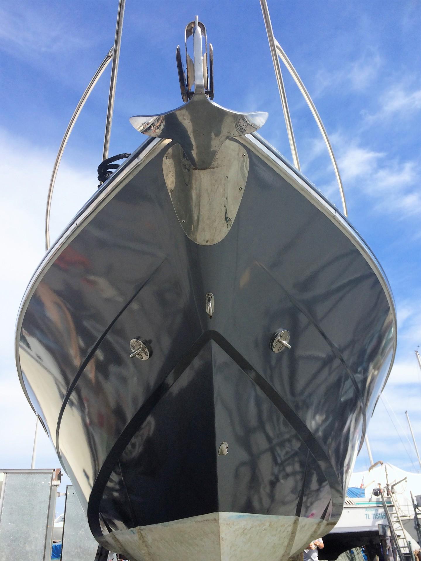 Yacht tender, hull vinyl wrap,3M