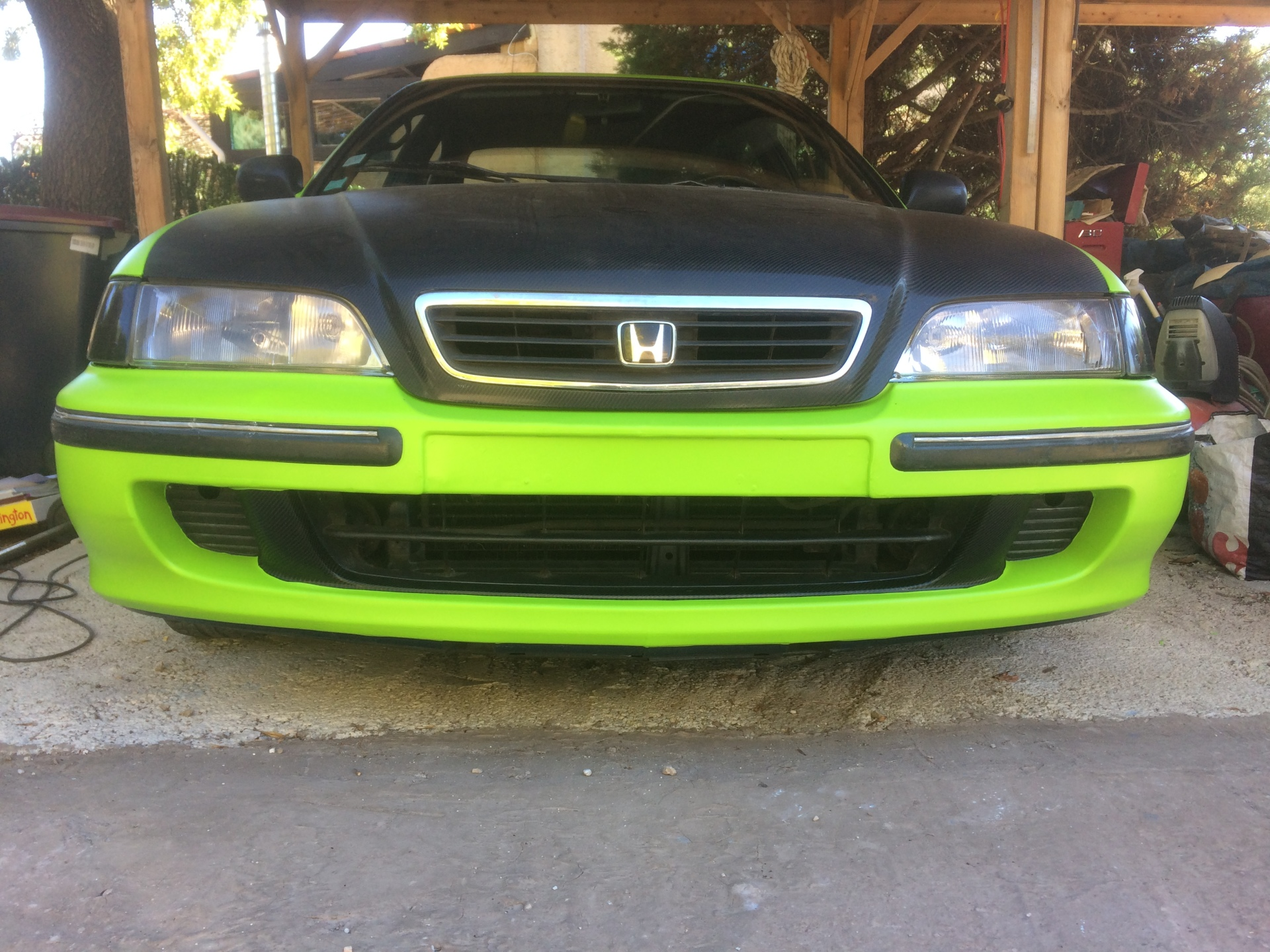 matt green vinyl, honda accord, vinyl wrap,