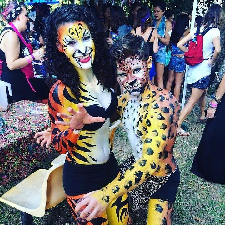 Secret Island Party Hong Kong Body Paint