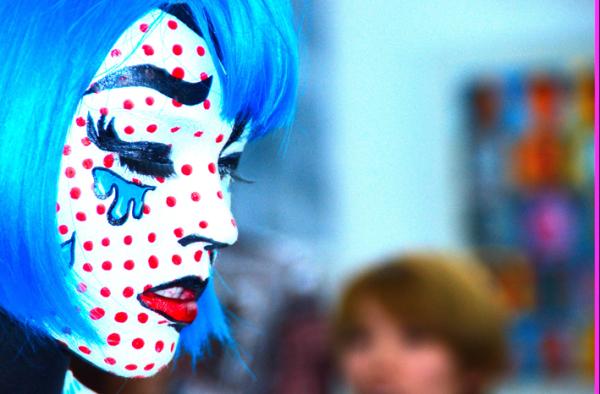 Roy Lichtenstein Body Paint, Beijing