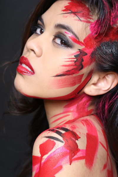 Experimental Makeup Red Studio Macau