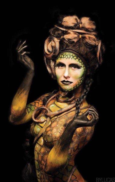 Kathryn Robbins Body Paint