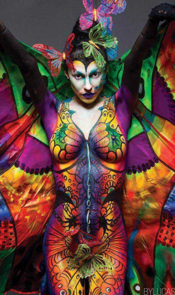 Kathryn Robbins Body Paint