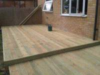 decking with split levels