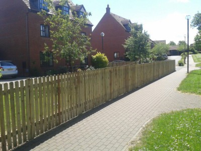 3ft picket fencing in bletchley