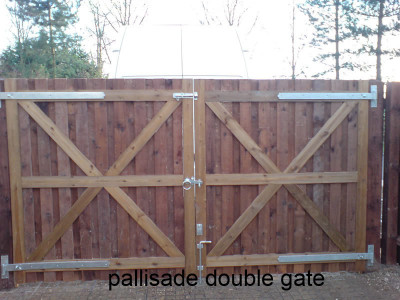 palisade gates made to measure