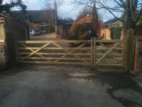 Field gates Milton Keynes