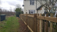 4 foot Picket Fencing