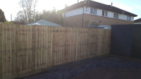 6 footm Close board fence