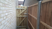 6 foot close board gate