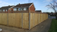 close board fencing in bletchley