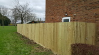 close board fencing in new port pagnell