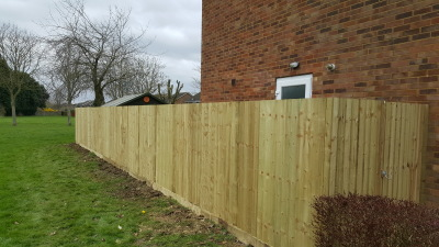 6ft close board fencing newport pagnell