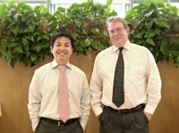 Dr. Perry Stokes; Dr. Son Nguyen; New Iberia gastroenterologist