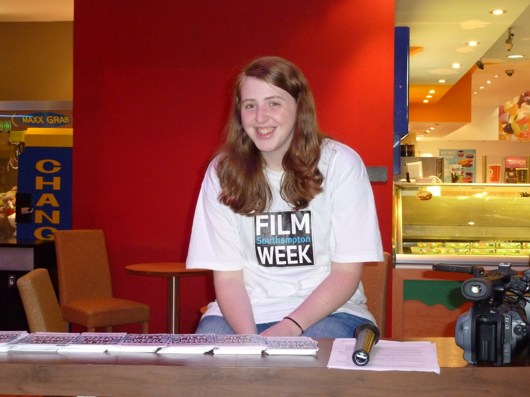 (Image: Rachel at Southampton Film Week 2010)