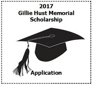 2017 Gillie Hust Memorial Scholarship