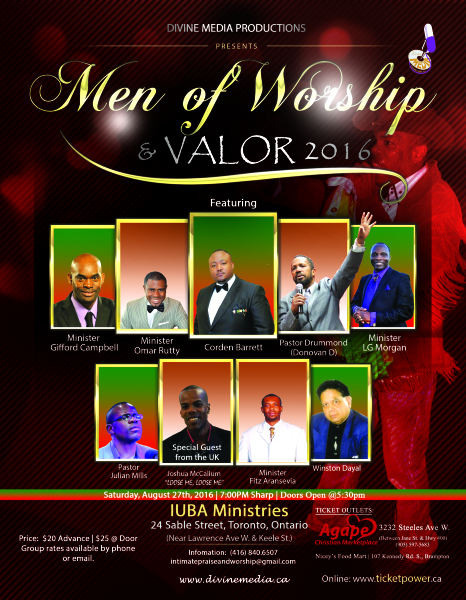 Men of Worship and Valor 2016
