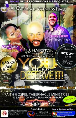An Overflow of Worship&Praise
