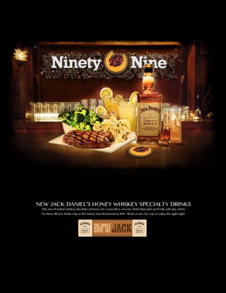 Ninety Nine Restaurant Advertisement