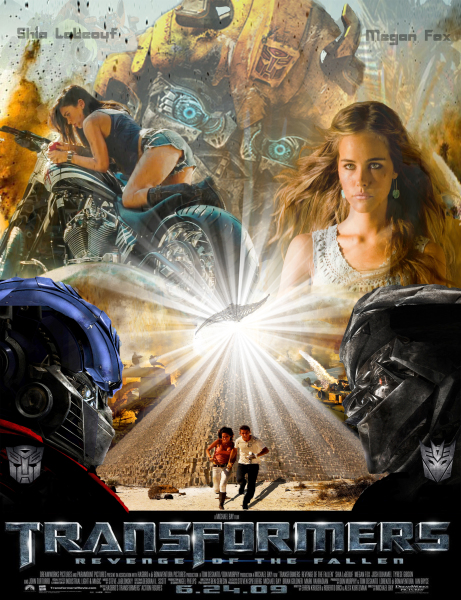 Transformers Movie Trailer Poster