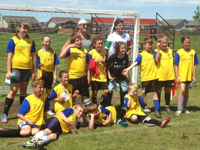 U12 Yellow Team - 2016
