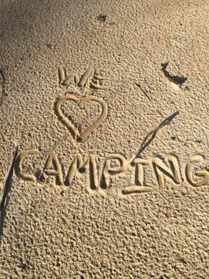 We Love Camping!!