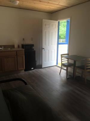 Kitchenette in Cabin #1