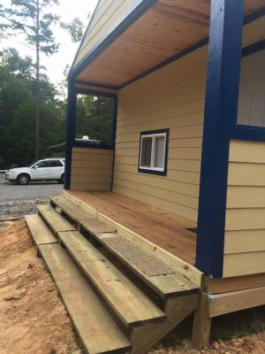 Front view of cabin #1