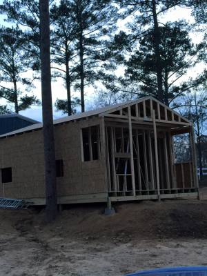 Cabin # 1 under construction