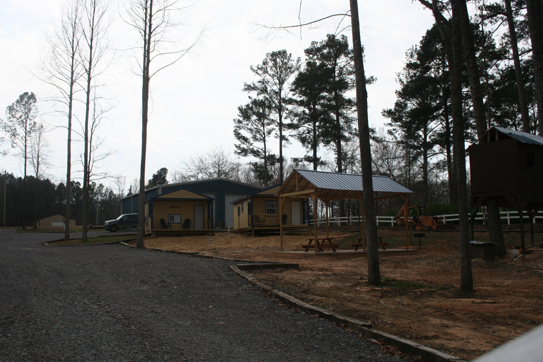 Cabins #1 and 2 / Picnic Pavilion