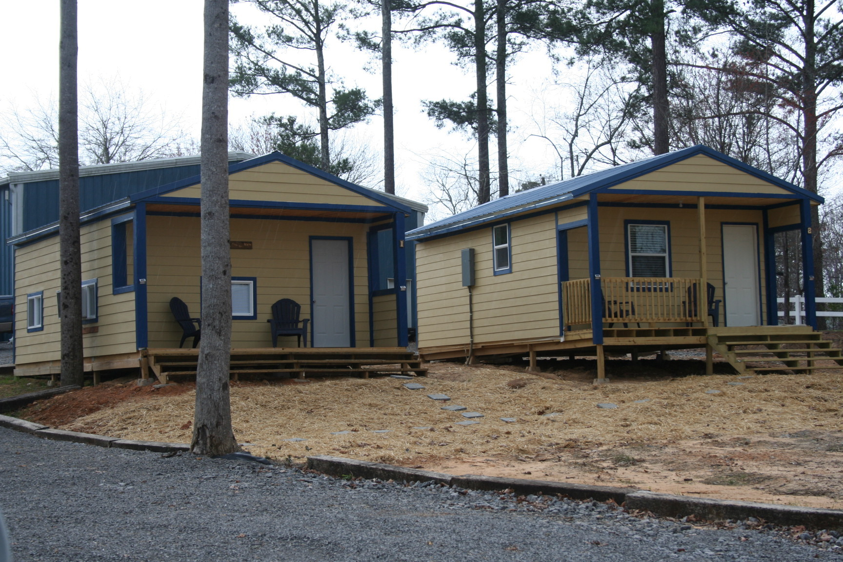 Cabins #1 and #2