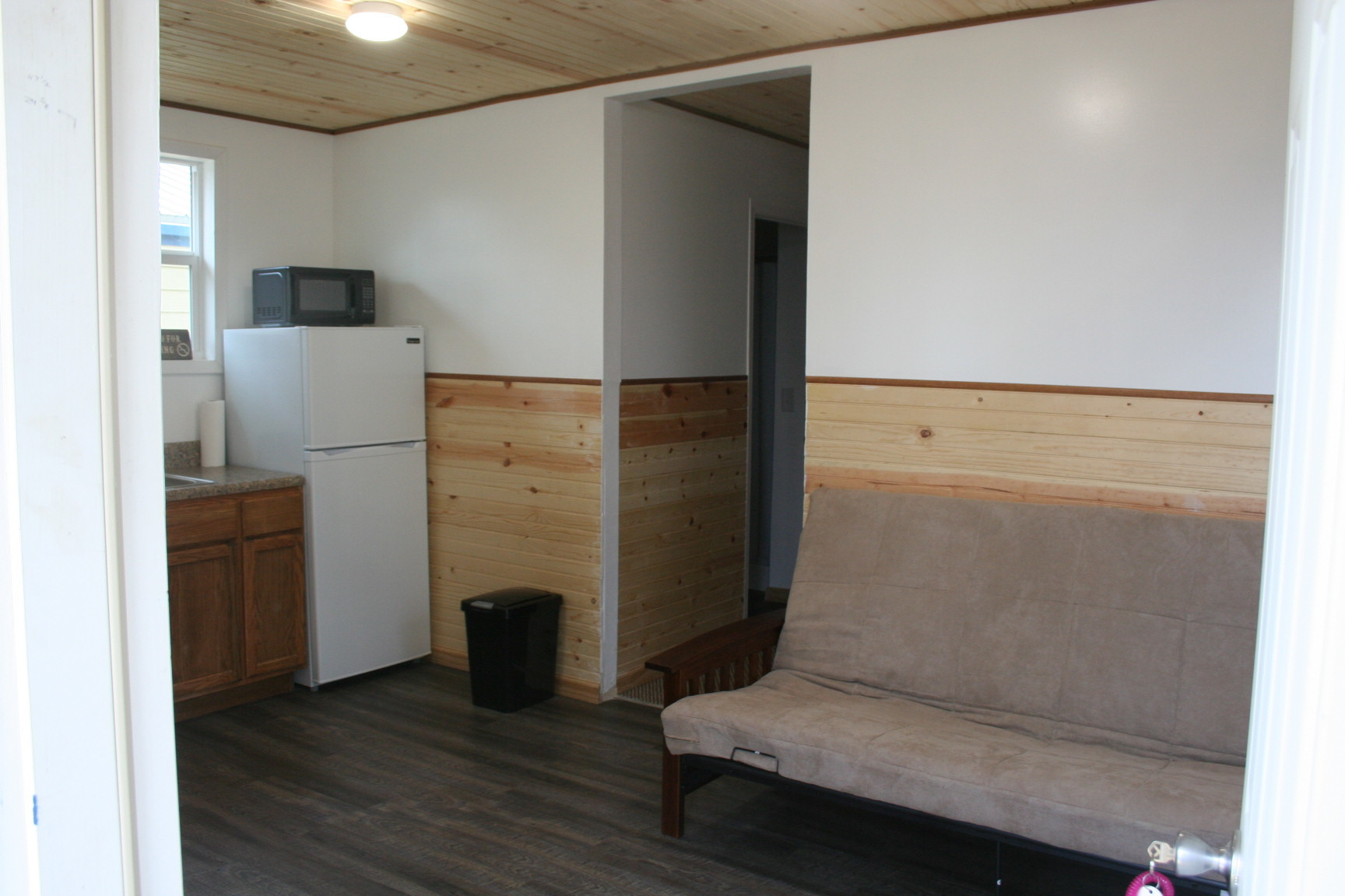 Part of Kitchen / Living Room in Cabin #2