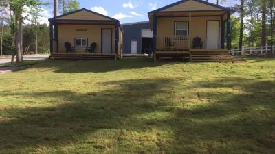 Front View of Cabins #1 & #2