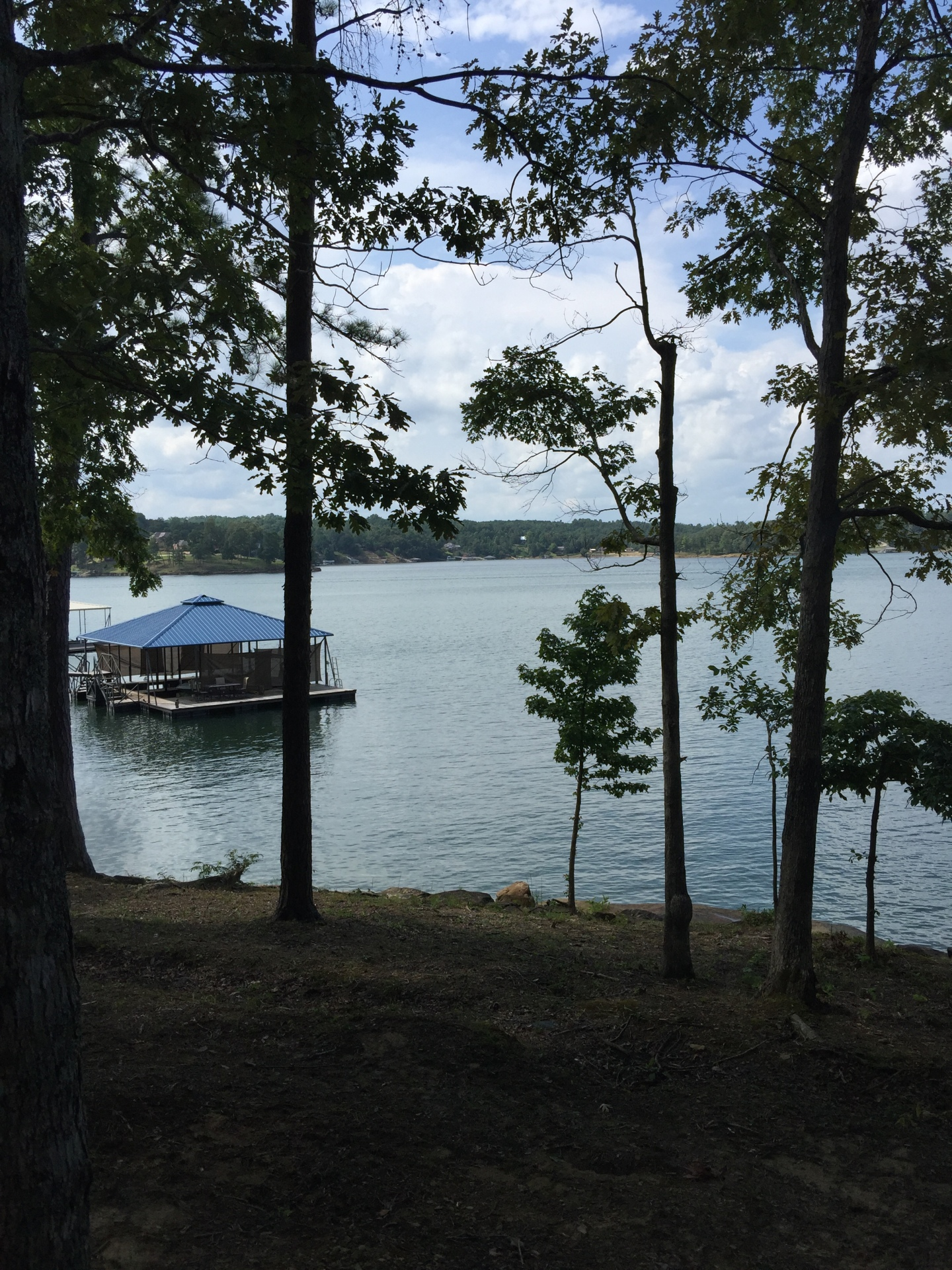View of the water from Cabin # 3