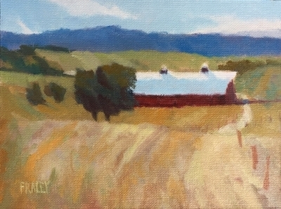 "Rural                                                                     $300.00                                                      6x8"" Oil on Canvas"