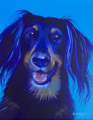 Dog Portrait Painting Day!