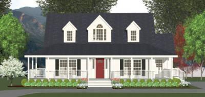 Salt Box Modular Home Plans
