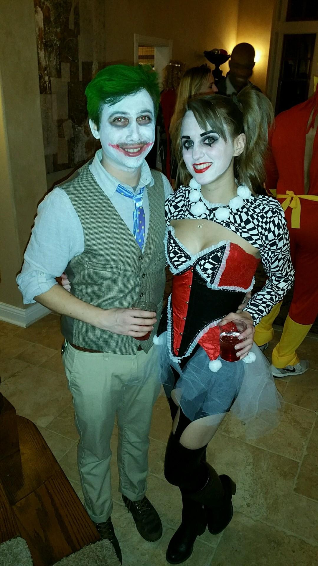 Harley Quinn NYE costume