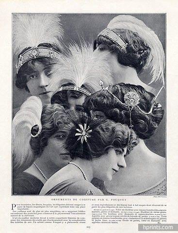 Edwardian-Headpieces